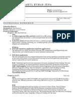 Manual Testing+SQL Resume