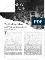 The New Dark Age; the Frankfurt School and 'Political Correctness