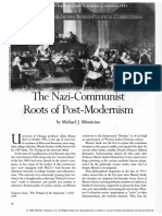 The Nazi-Communist Roots of Post-modernism
