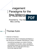 Emerging Strategic Paradigms
