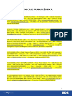 Quimico Farmaceutico - SP