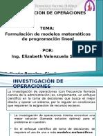 Investigación de Operaciones - Presentación