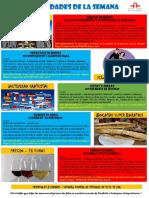 Actividades de la Escuela de Español 28 Marzo a 03 Abril