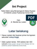 Mini Project Rujukan Lansia Marsi