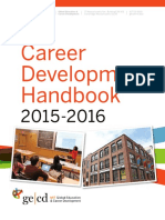 Career development handbook 2015-2016