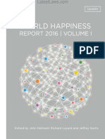 The World Happiness Report,2016