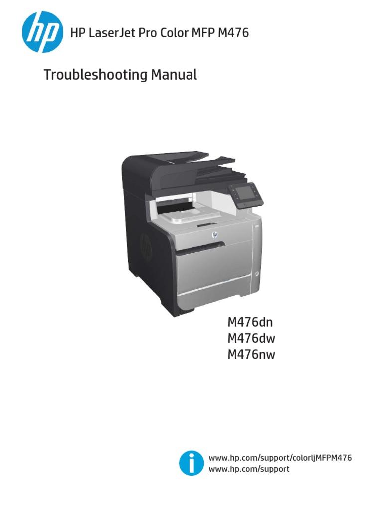 hp laserjet pro color mfp m476 troubleshooting manual fax image rh scribd com hp 4p manual hp laserjet 4p manual