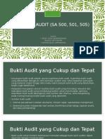 Standar Audit (Sa 500, 501,