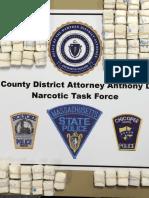3400 Bags of Heroin Seized by Hampden District Attorney Gulluni's Narcotics Taskforce