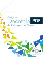Codigo Deontologioco Para Museos