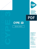 CYPE 3D - Ejemplo