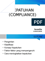 Kepatuhan Compliance