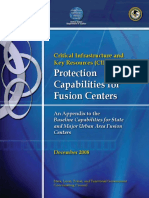 CIKR Protection Capabilities for Fusion Centers s