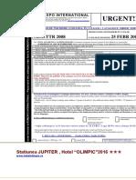 Jupiter Hotel Olimpic 2016 Standard