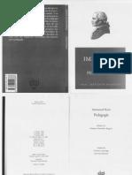 LIBRO Kant - Pedagogia - Akal