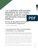 Municipios Sujetos de Derecho Internacional Publico