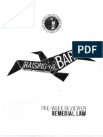 Anteneo- Remedial Law Preweek 2015