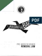 Anteneo- Remedial Law Preweek 2015