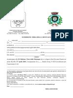 Scheda Di Adesione Xi Fiera Montagna 2016 PDF
