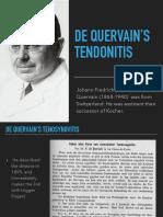 De Quervain's Tenosynovitis-Qatar