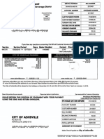 Asheville Combined Services Bill for SCCP, LLC