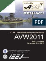 Abstract Proceeding AVLSI 2018