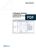 Canopen Module Manual 3.6