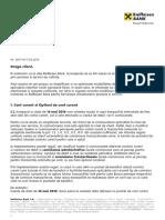 Modificari Contractuale Produse Si Servicii Raiffeisen Bank Adresate Persoanelor Fizice