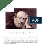 Bibliografia Mazzini