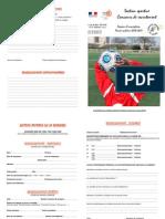 Dossier d'inscription à la section foot du collège la Reynerie 2010-2011