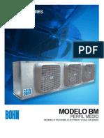 APM Evaporadores Para Camaras Frigorificas de Perfil Medio BM