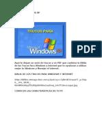 Trucos Windows Xp
