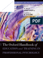 (Oxford Library of Psychology) W. Brad Johnson, Nadine Kaslow-The Oxford Handbook of Education and Training in Professional Psychology-Oxford University Press (2014).pdf
