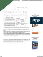 Interruptores y Sensores de Posición - Parte 2 - Encendido Electronico