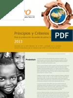 Principios y Criterios RSPO