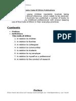 Early Childhood Australia Code of Ethics Publications