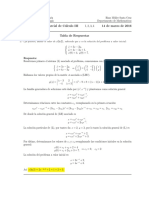 Corrección Segundo Parcial de Cálculo III, 14 de marzo de 2016, tarde