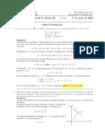 Corrección Segundo Parcial de Cálculo III, 17 de marzo de 2016.