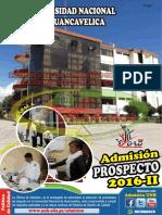 Prospecto de Admisión TEMARIO 2016-II Oficial