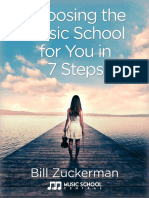 Choosing a Music School eBook