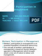 Workers Participation