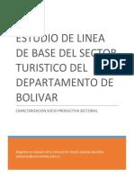 Linea de Base Turismo Departamento de Bolivar