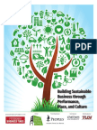 Building Sustainable Business through Performance, Place, and Culture