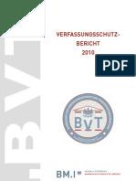 Verfassungsschutz Bericht Österreich 2010