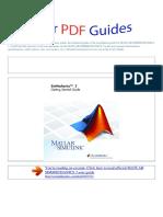 User Manual Matlab Simmechanics 3 e