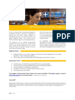 Brochure SAP IndustryPhD Scholarship