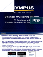 MX2 Training Program 04A PA Calculator Overview