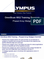MX2 Training Program 04C Phased Array Wedges