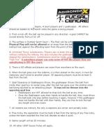 adirondack futsal festival rules