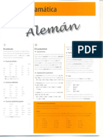 Tabla de Gramatica Aleman